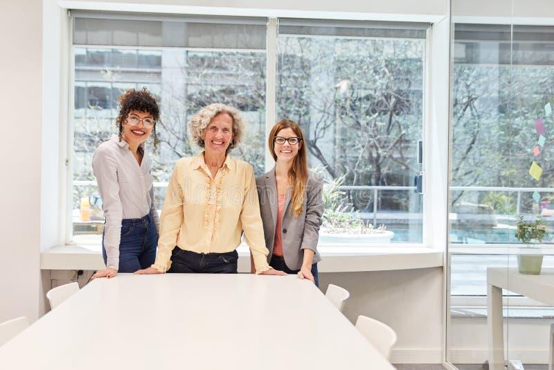 Mulheres empresárias bem-sucedidas como exemplos de carreiras foto de stock royalty free