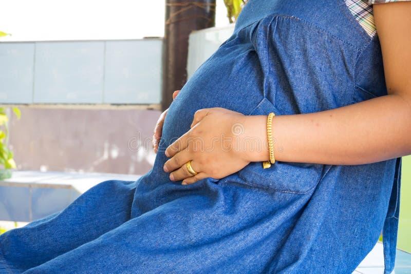 Mulheres grávidas imagem de stock