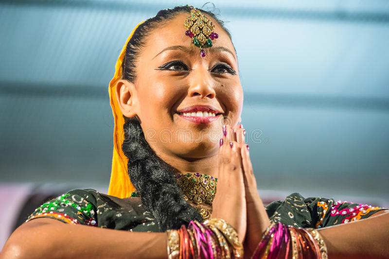 Mulheres indianas foto de stock