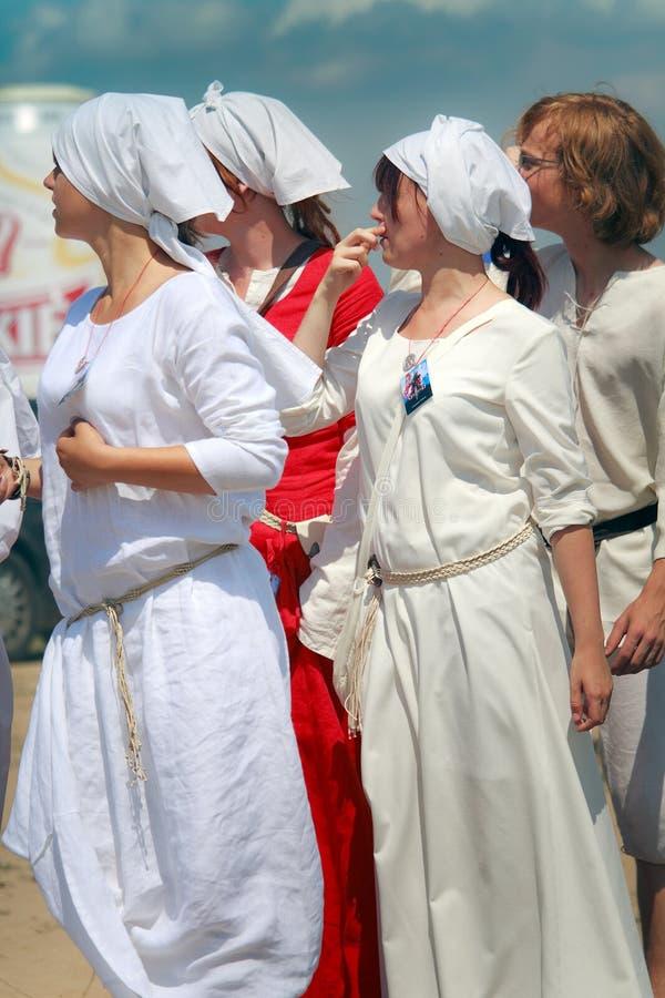Download Mulheres medievais imagem editorial. Imagem de estilo - 15463805