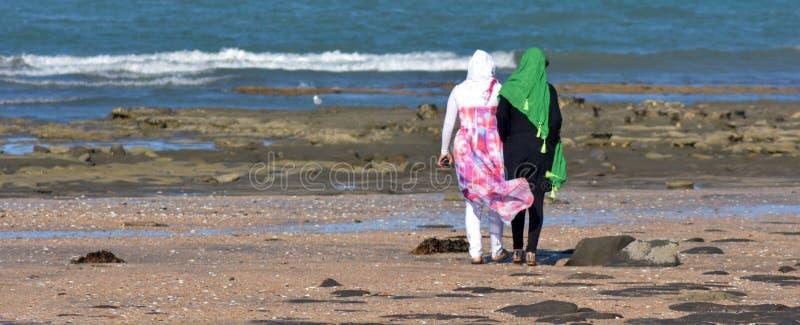 Mulheres muçulmanas imagens de stock