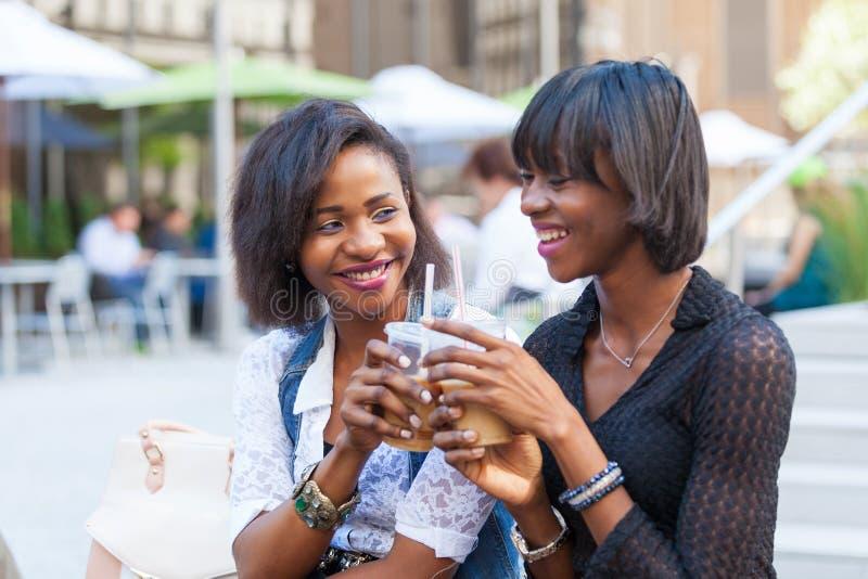 Mulheres negras em New York fotografia de stock royalty free