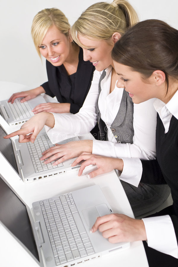 Mulheres no negócio foto de stock