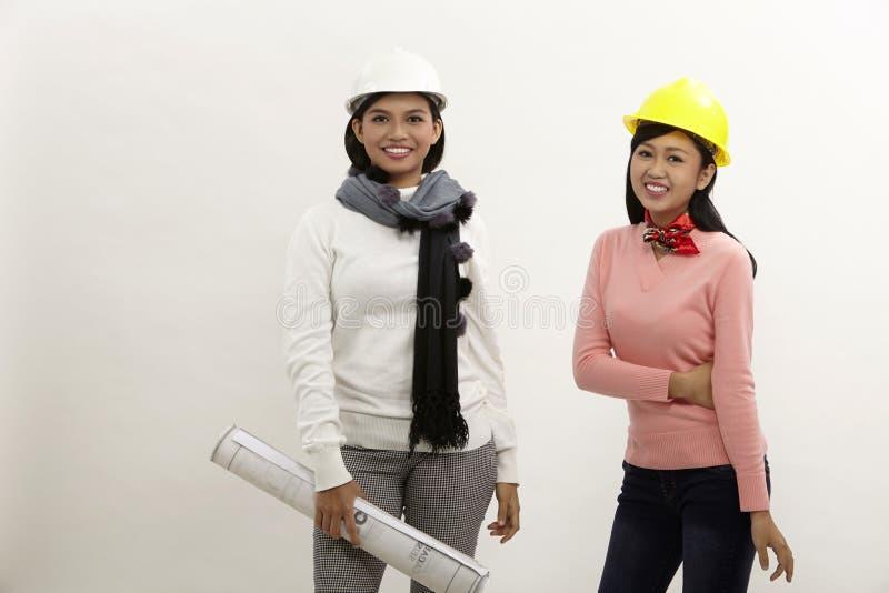 Mulheres no trabalho imagens de stock royalty free