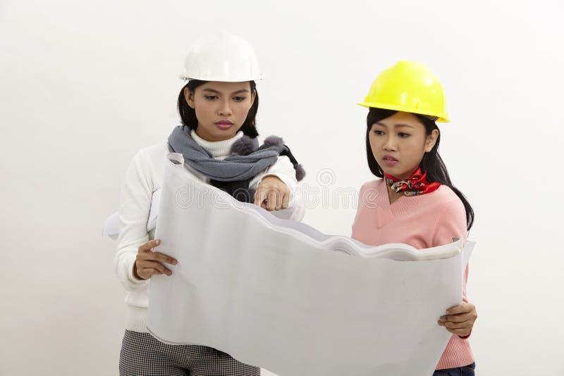 Mulheres no trabalho foto de stock