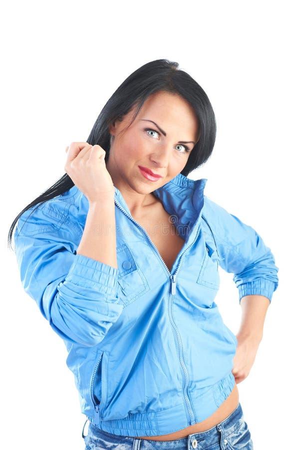 Mulheres novas alegres imagem de stock royalty free