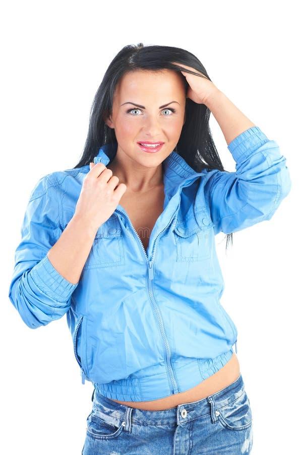 Mulheres novas alegres foto de stock royalty free