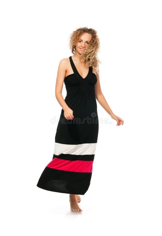 Mulheres novas descalças imagem de stock