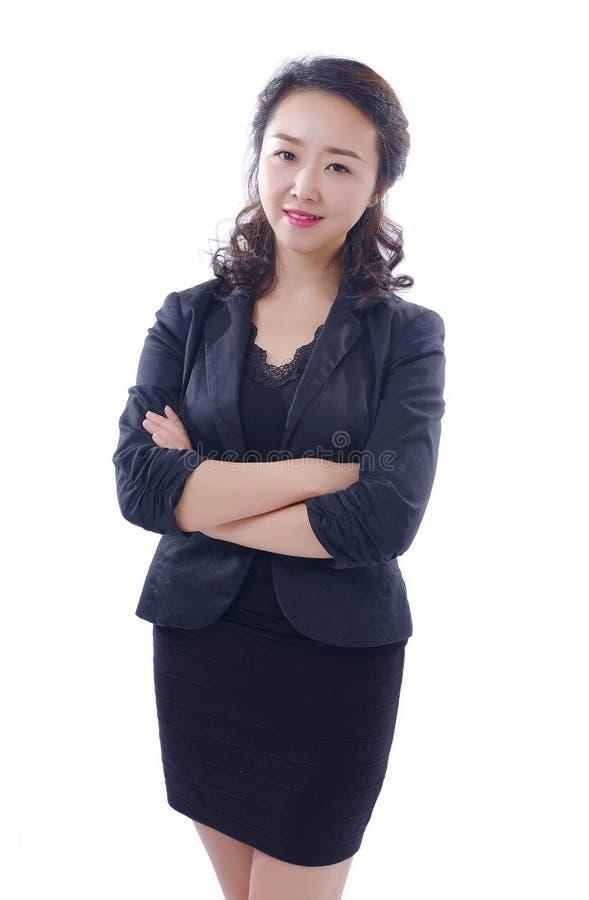 Mulheres profissionais da elite da gestão da empresa fotos de stock