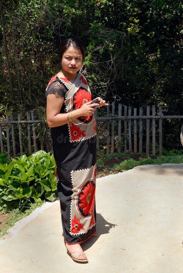 Download Mulheres Tribais De Khasi Em India Do Nordeste Imagem de Stock Editorial - Imagem de vestido, diário: 16857044