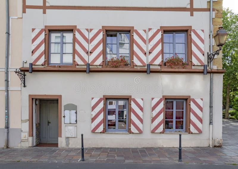 Mulhouse en France image libre de droits