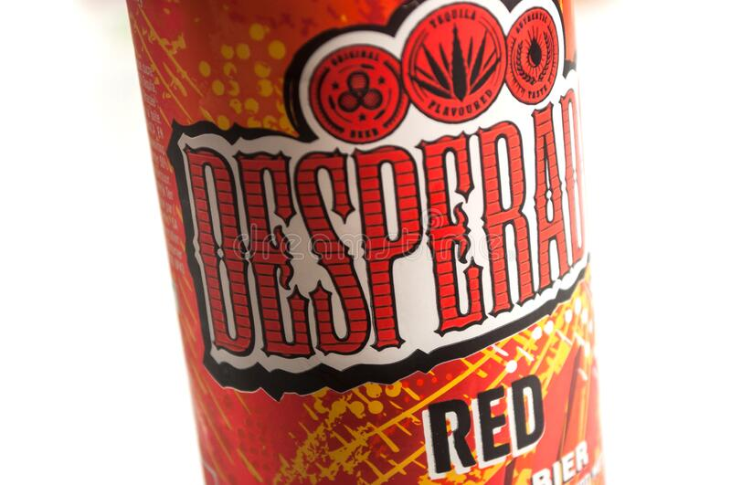 Desperados Beer Can On White Background Desperados Is The Famous Brand Of Mexican Beer With Tequila Editorial Photo Image Of 2020 Closeup 176074766