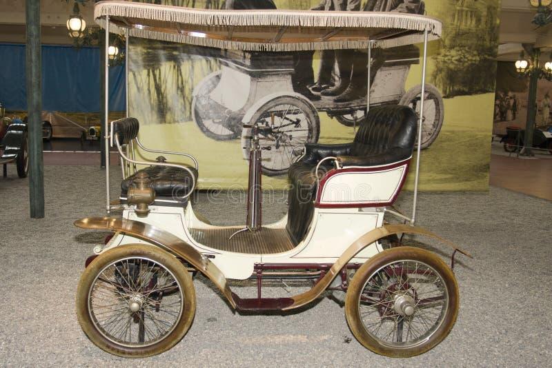 Schlumpf Car Collection, at Cité de l`Automobile National Museum in Mulhouse, Alasace France. La. Mulhouse, France 10 -15-2018. Schlumpf Car Collection, at stock photo