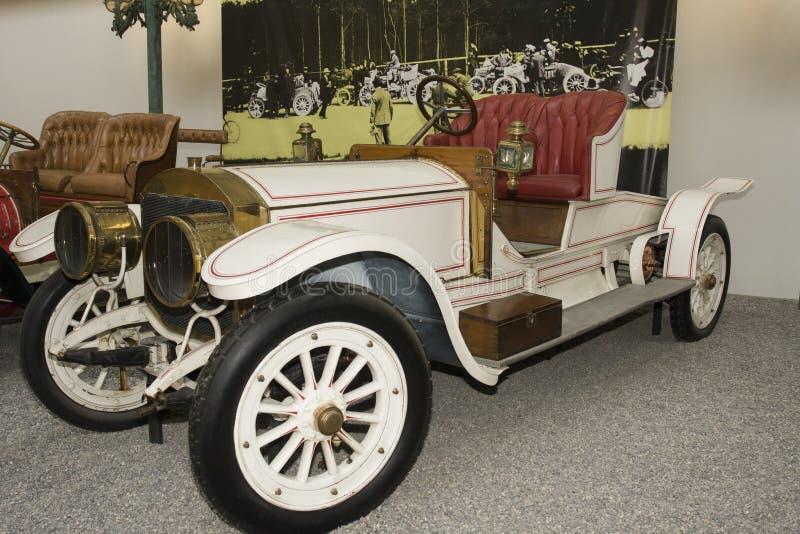 Schlumpf Car Collection, at Cité de l`Automobile National Museum in Mulhouse, Alasace France. La. Mulhouse, France 10 -15-2018. Schlumpf Car Collection, at royalty free stock images