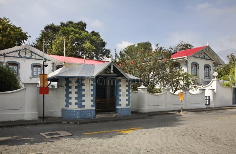 Muliaage in Mannetje Republiek van de Maldiven royalty-vrije stock foto's