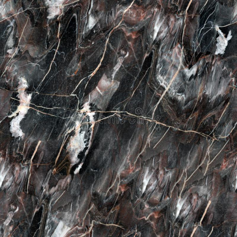 Mulicolored dark natural marble. Background of natural stone. Seamless square texture, tile ready. High resolution photo stock photography