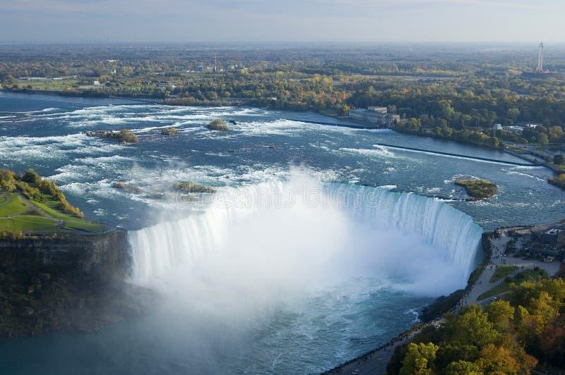Mulinello del Niagara Falls in Ontario fotografia stock