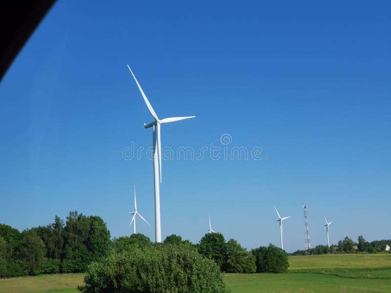 Mulini di vento immagine stock