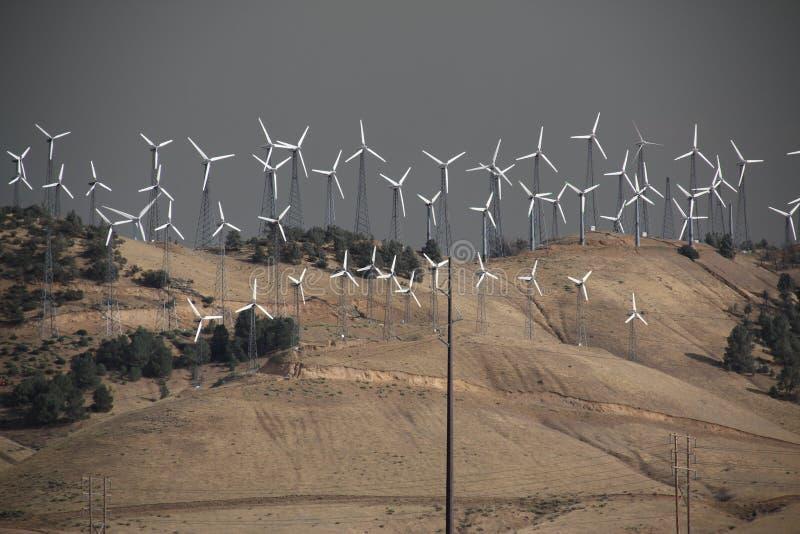 Mulini di vento immagine stock libera da diritti