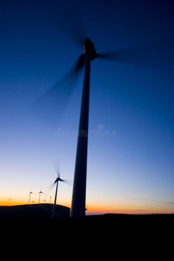 Mulini a vento immagini stock