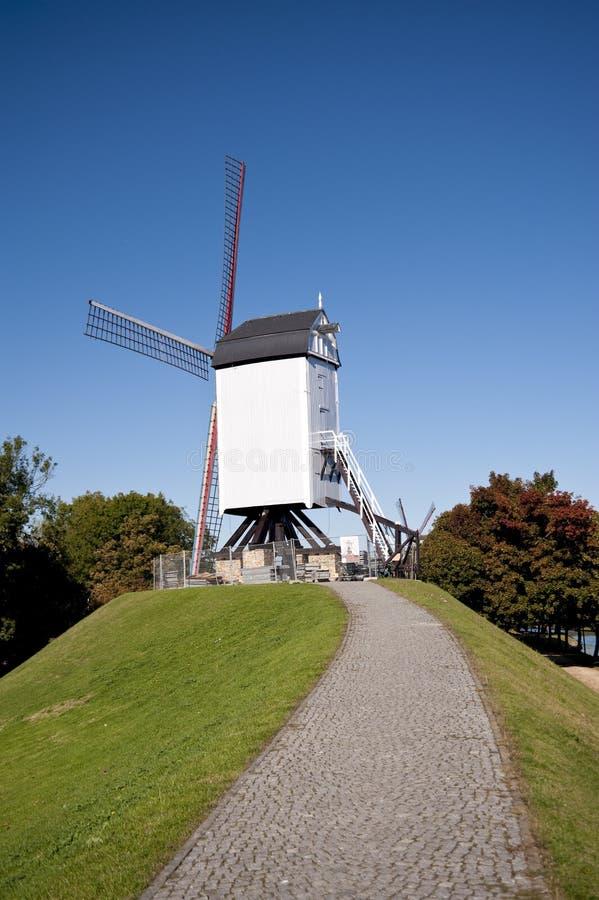 Mulino di vento fotografia stock libera da diritti