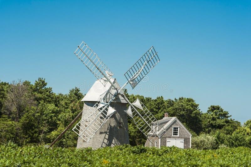 Mulino a vento antico fotografia stock libera da diritti
