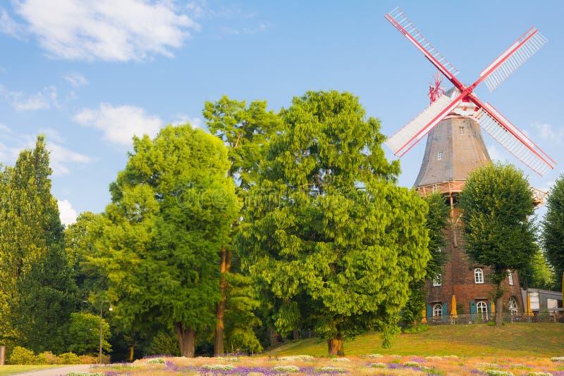 Mulino a vento a Brema immagini stock