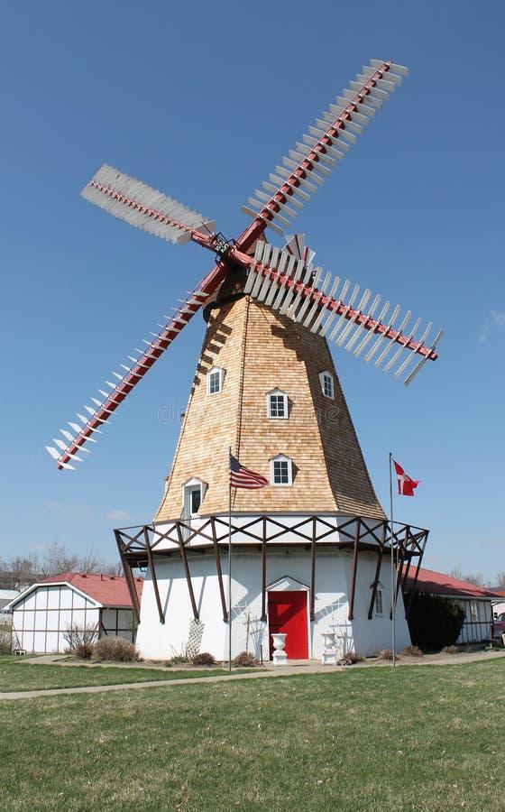 Mulino a vento danese fotografie stock libere da diritti