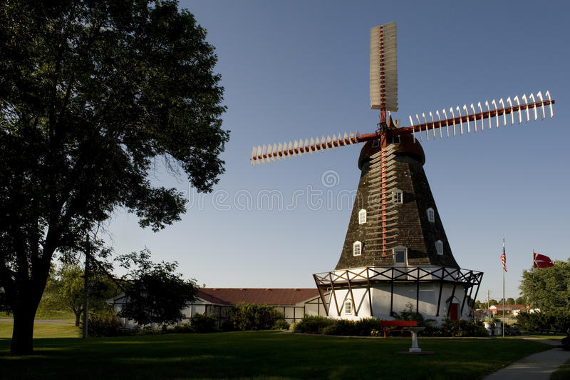 Mulino a vento danese fotografia stock