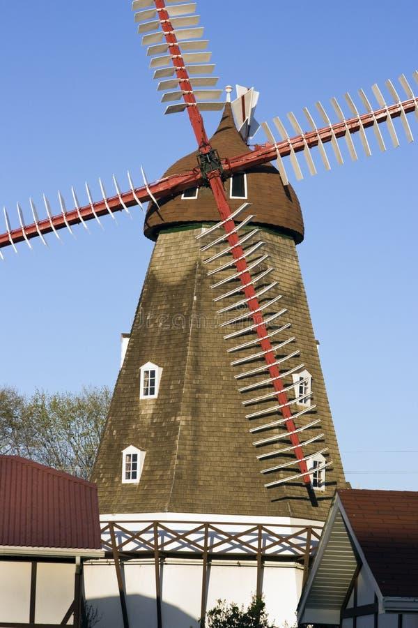 Mulino a vento danese in corno degli alci immagine stock libera da diritti