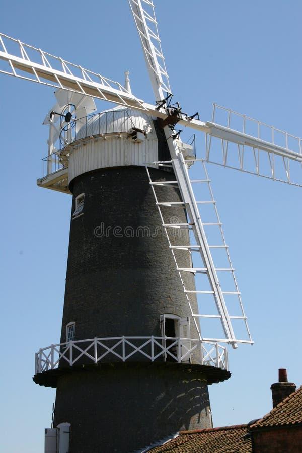 Mulino a vento della Norfolk fotografia stock libera da diritti