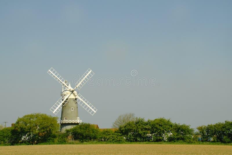 Mulino a vento di Bircham in Norfolk Regno Unito fotografia stock