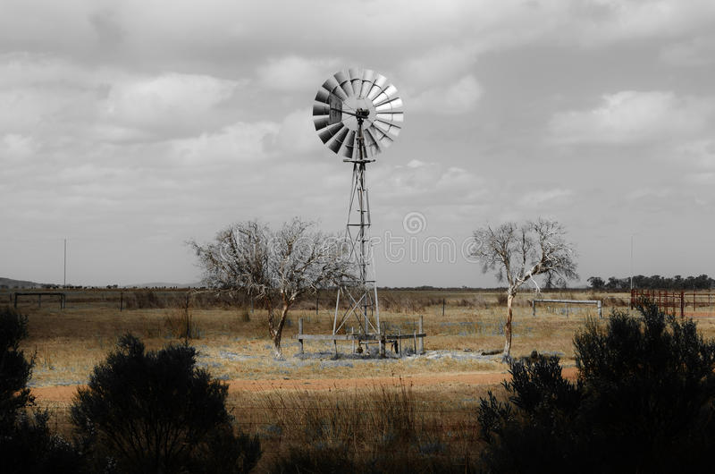Mulino a vento di Esperance fotografia stock