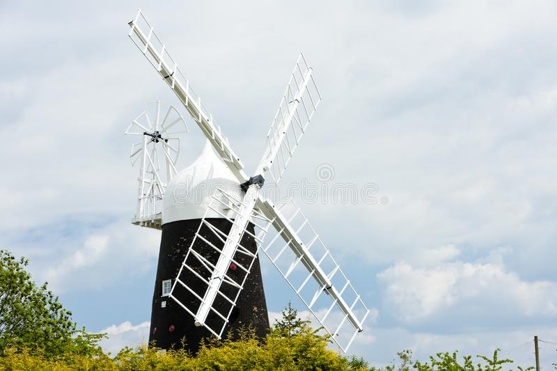 Mulino a vento di Stretham, East Anglia, Inghilterra fotografia stock libera da diritti
