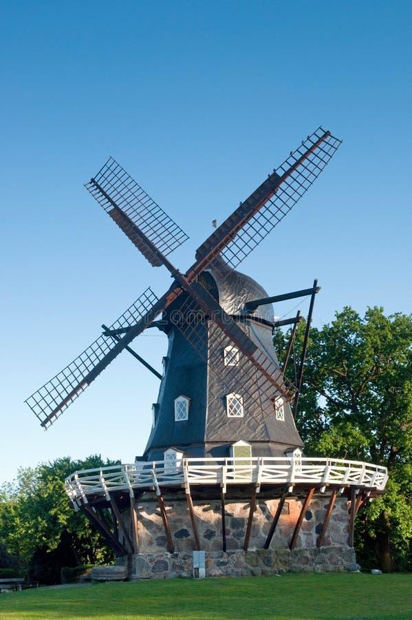 Mulino a vento a Malmo immagine stock