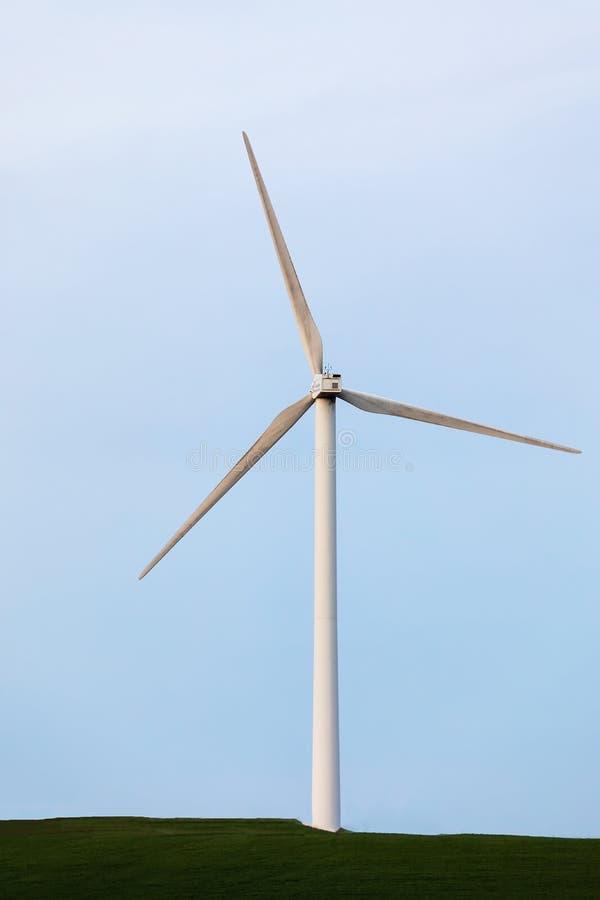 Mulino a vento, parco eolico al brujula della La a Burgos fotografie stock