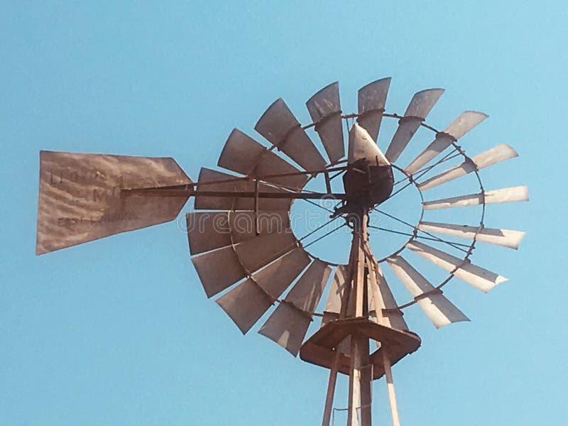 Mulino a vento in SA fotografia stock libera da diritti