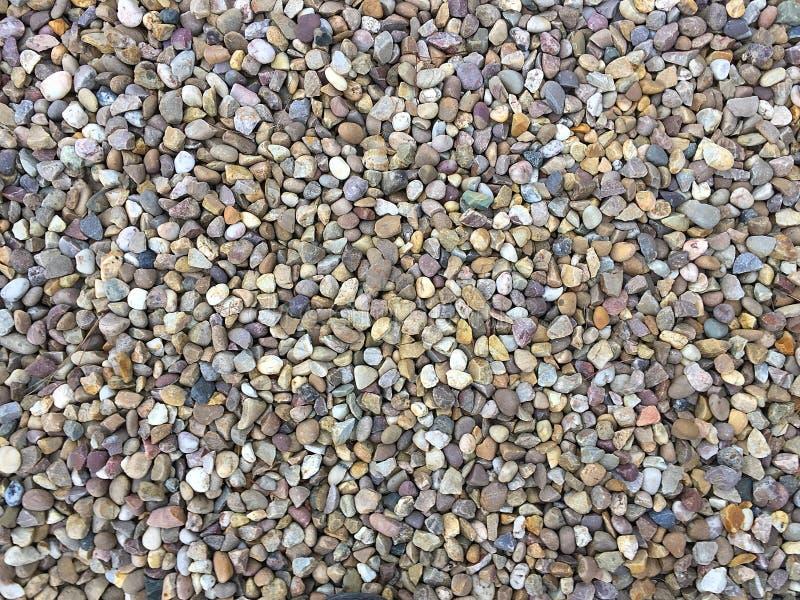 Mulit-χρωματισμένο αμμοχάλικο για τα υπόβαθρα στοκ εικόνες
