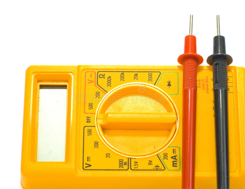 Download Mulit meter stock photo. Image of electrode, electricity - 10487570