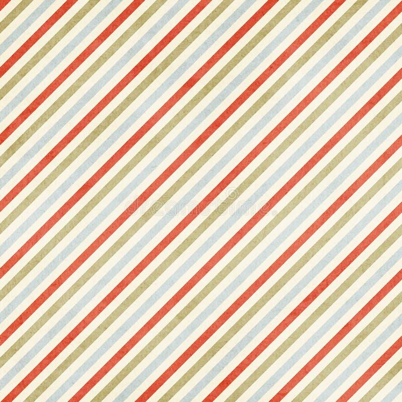 Mulitcolored Podławy Pasiasty Bożenarodzeniowy tło zdjęcie stock