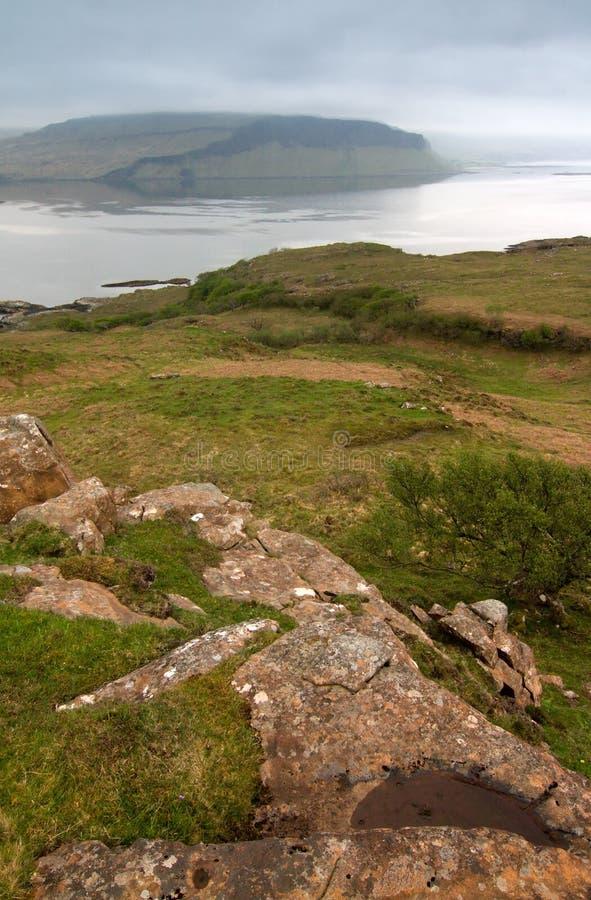 mull scotland arkivfoton