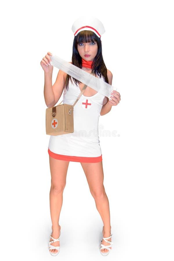 mull sjuksköterskan fotografering för bildbyråer