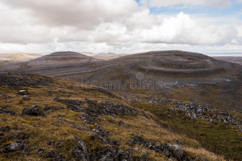Mullaghmore nel Burren immagine stock libera da diritti