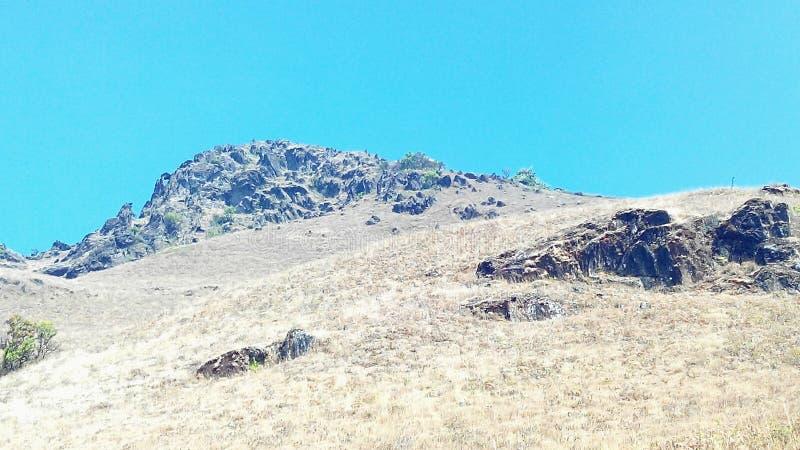 Mullayanagiri mountain peak, India royalty free stock images