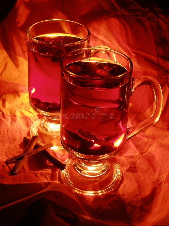 mulled drinkmas wine x fotografering för bildbyråer
