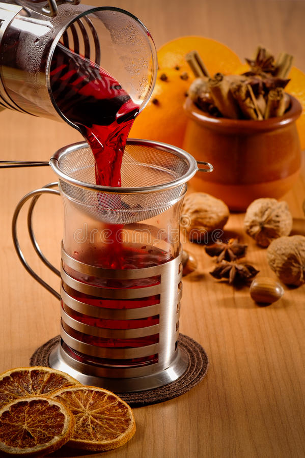 Download Mulled Wine stock image. Image of drink, star, evening - 11930921