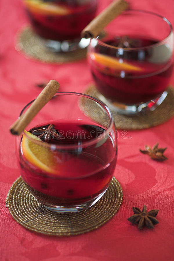 Free Mulled Wine Royalty Free Stock Image - 12653936