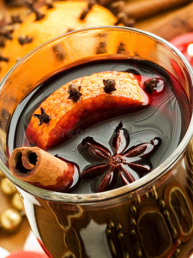 Download Mulled wine stock photo. Image of gourmet, clove, homemade - 16562608