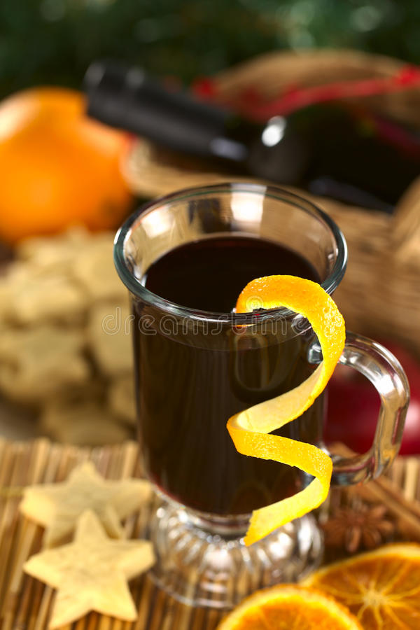 Download Mulled Wine stock photo. Image of food, selective, warm - 22255654