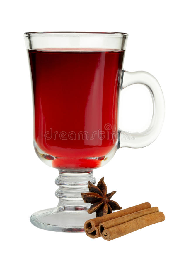 Download Mulled wine stock photo. Image of brown, white, anise - 22318076